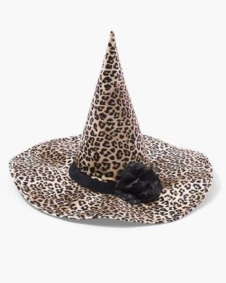Leopard-Print Witch Hat