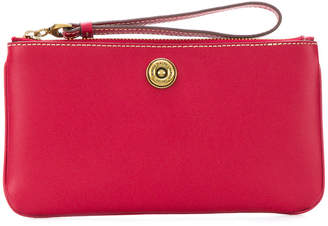 Lauren Ralph Lauren top zip clutch bag