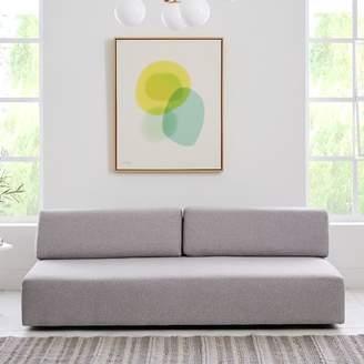 "west elm Tillary® Sofa (74.5"") - Feather Gray (Chenille Tweed)"
