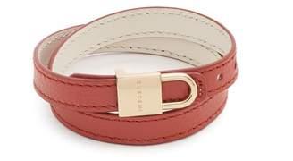 Buscemi - Wraparound Leather Bracelet - Mens - Tan