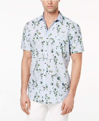 INC International Concepts I.n.c. Men's Harry Floral-Print Shirt, Created for Macy's