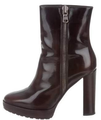 Brunello Cucinelli Platform Ankle Boots