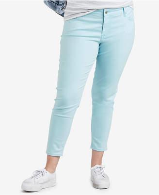 Levi's Plus Size 711 Cotton Skinny Ankle Jeans