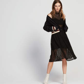 Sandro Mid-length lace dress