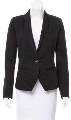 J Brand Structured Woven Blazer