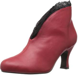 Pleaser USA Pink Label Women's Jenna105/rpu-lc Ankle Bootie