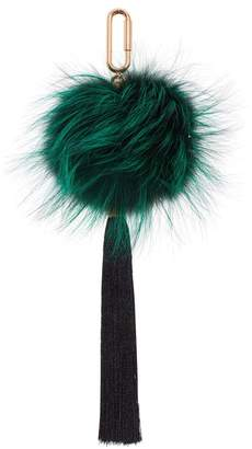 Amanda Wakeley Emerald Fox Tassel Charm