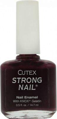 Cutex Strong Nail Enamel 14.7mL - Eggplant