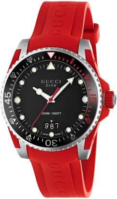 Gucci Dive, 40mm $1,090 thestylecure.com