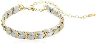 Ettika Punk Pony in Silver and Gold Choker Necklace