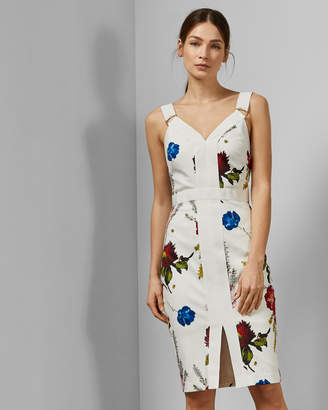 6fecd8cbfdfa Ted Baker AMYLIA Berry Sundae bodycon dress