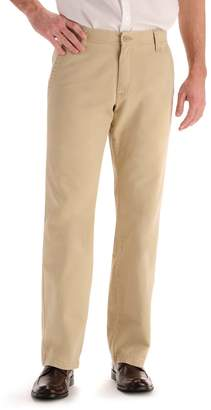 Lee Big & Tall Weekend Chino Straight-Fit Flat-Front Pants
