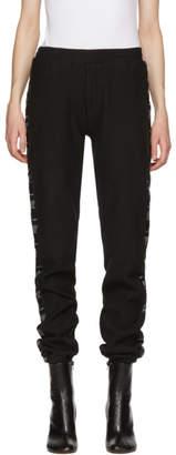 Vetements Black Tape Lounge Pants