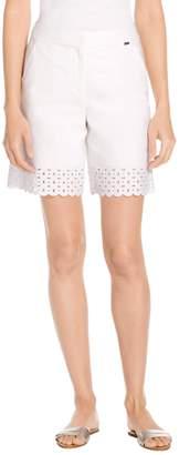 St. John Bi-Stretch Twill Shorts