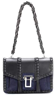Proenza Schouler Hava Chain leather and suede shoulder bag