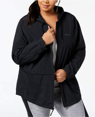 Columbia Plus Size Omni-Shade Upf 30 Sandy River Jacket