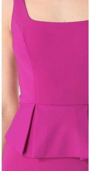 Robert Rodriguez Peplum Pencil Dress