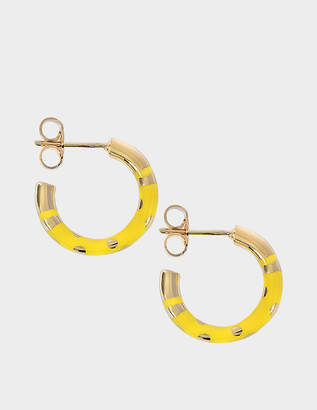 Aurelie Bidermann Positano mini hoop earrings