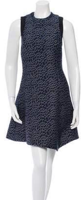 Proenza Schouler Open Back Jacquard Dress w/ Tags