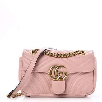 Gucci Marmont Matelasse GG Mini Light Pink