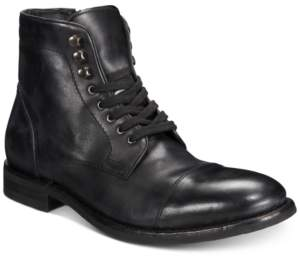 Frye Men's Seth Cap-Toe Leather Lace-Up Boots, Created for Macy's Men's Shoes