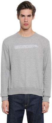 Calvin Klein Embroidered Cotton Sweatshirt