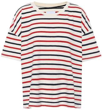 Current/Elliott The Roadie striped cotton T-shirt