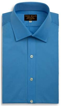 Emma Willis EMMA WILLIS Azure Superior Cotton Shirt