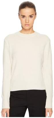 Vince Wool Boucle Pullover Women's Long Sleeve Pullover