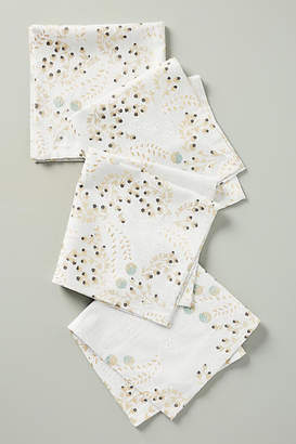 Anthropologie Livinia Napkins, Set of 4