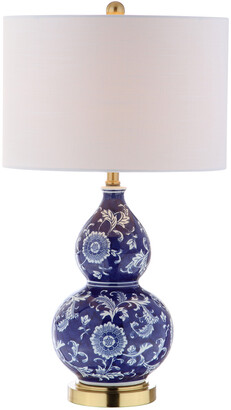 Jonathan Y Designs Lee 27In Ceramic Chinoiserie Table Lamp