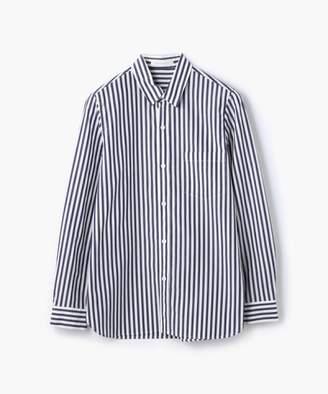TOMORROWLAND (トゥモローランド) - TOMORROWLAND コットンブロードストライプ レギュラーシャツ