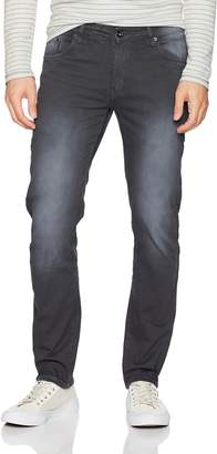 WT02 Men's Color Dyed Fashion Skinny Denim Pants