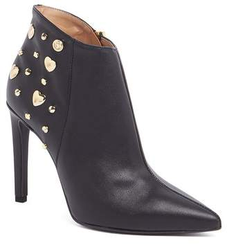 Love Moschino Studded Ankle Bootie