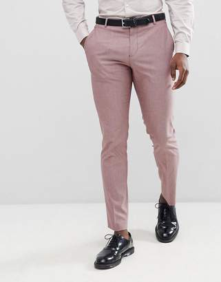 Selected Slim Suit PANTS In Rose