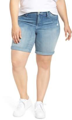 Seven7 Denim Bermuda Shorts
