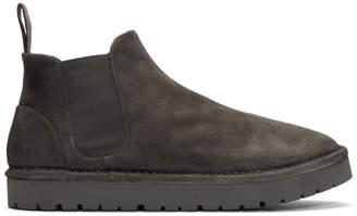 Marsèll Grey Sancrispa Alta Chelsea Boots