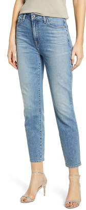 7 For All Mankind High Waist Crop Slim Jeans