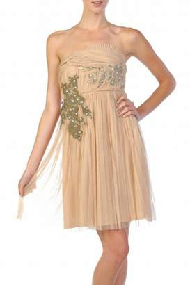 Ryu Strapless Nude Dress