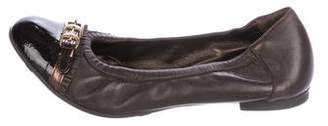 AGL Leather Ballet Flats