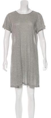Alice + Olivia Striped T-Shirt Dress