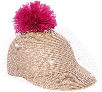 Simonetta Straw Hat W/ Pompom