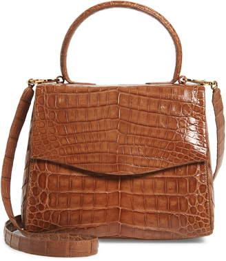 Nancy Gonzalez Lolita Genuine Crocodile Top Handle Bag