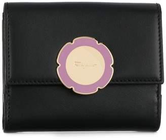 Salvatore Ferragamo flower plaque mini cardholder