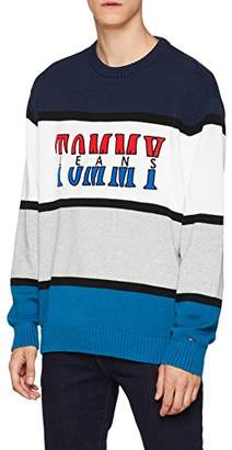 Tommy Hilfiger Tommy Jeans Men's Sweater Retro Colorblock