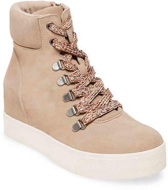 Steve Madden Cane Wedge Sneaker - Women's
