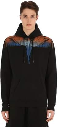 Marcelo Burlon County of Milan Printed Wings Sweatshirt Hoodie
