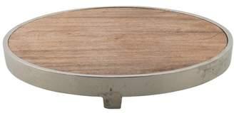 Pinda Wooden Aluminium Rim Cheese Board