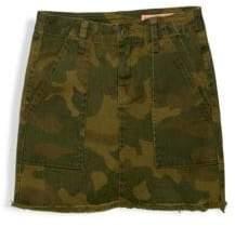 Blank NYC Girl's Chain Of Command Mini Skirt