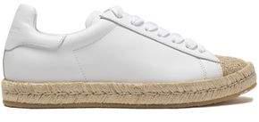 Alexander Wang Leather Espadrilles Sneakers